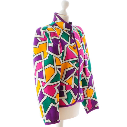 Yves Saint Laurent Jacket with mosaic pattern