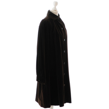 Yves Saint Laurent Brown velvet coat