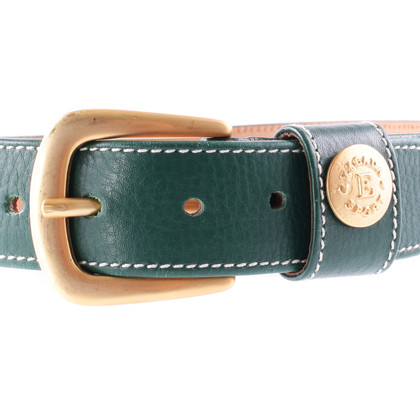 Escada Belt with gold buckle
