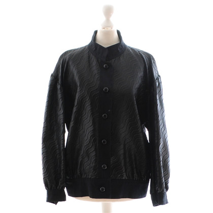 Saint Laurent Black jacket with imprint