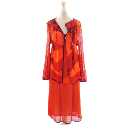 Christian Lacroix Dress-jacket suits in Orange