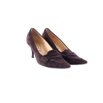 Tod's Chocolate pumps