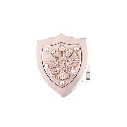 Reptile's House Fibbia in argento con stemma