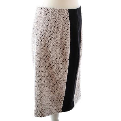 Diane von Furstenberg Skirt with lace