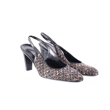 Laurèl Sling backs in Tweed optics