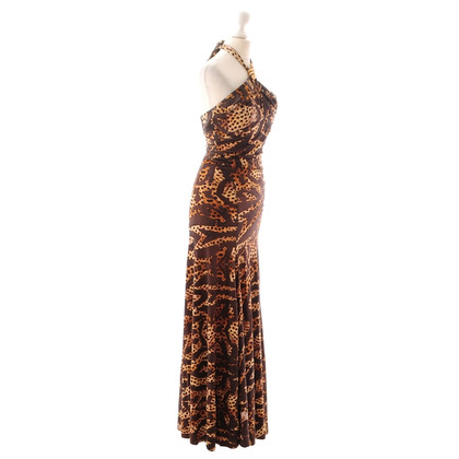 Roberto Cavalli Leo patterned dress