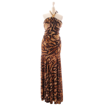 Roberto Cavalli Leo patterned dress