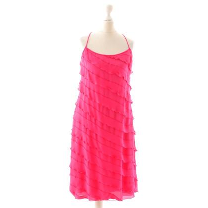 Armani Flounce dress in pink