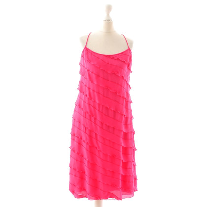 Armani Volantkleid in Pink
