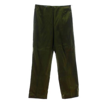 René Lezard Pantaloni verde di maggio