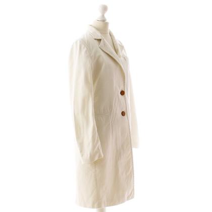 Armani Purist coat in off-white