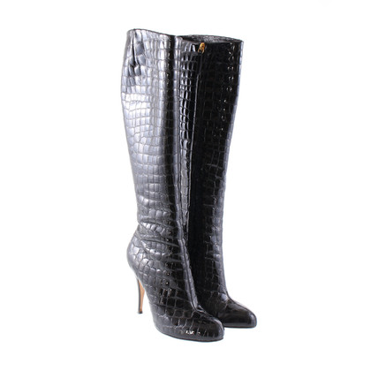 Giuseppe Zanotti Croc lakleder boot