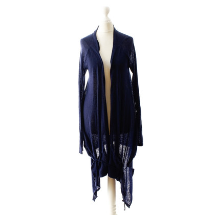 Patrizia Pepe Avvolgere il Cardigan in Midnight Blue