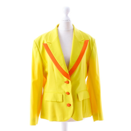 Kenzo Yellow Blazer with coral