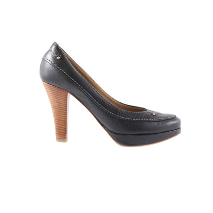Chloé Plateauheels con perline decorative