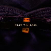 Elie Tahari Abito etnico in viola