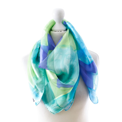 Escada Patterned silk scarf