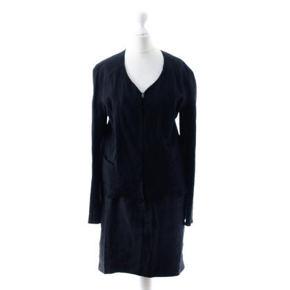 Rochas Black linen costume
