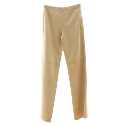 Strenesse Blue Suède broeken in beige