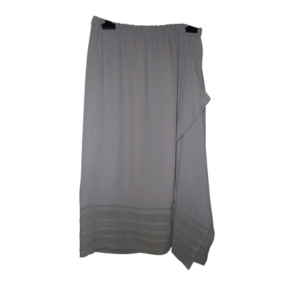 DKNY Grigio gonna con volant laterale