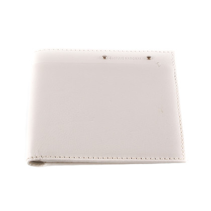Costume National White leather wallet