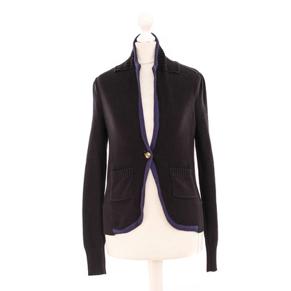 Lux  Knit Blazer in black
