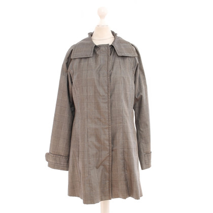 Drykorn Short coat with Prince of Wales check patterns