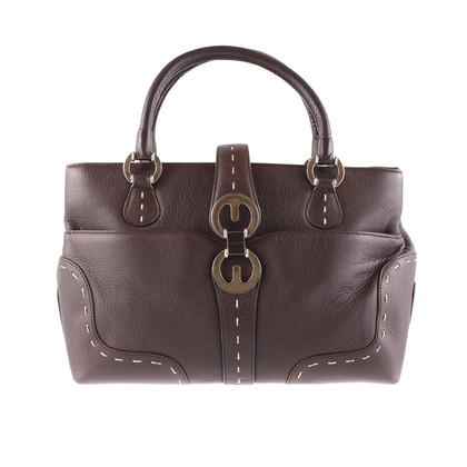 Escada Kast-leather case with light stitching