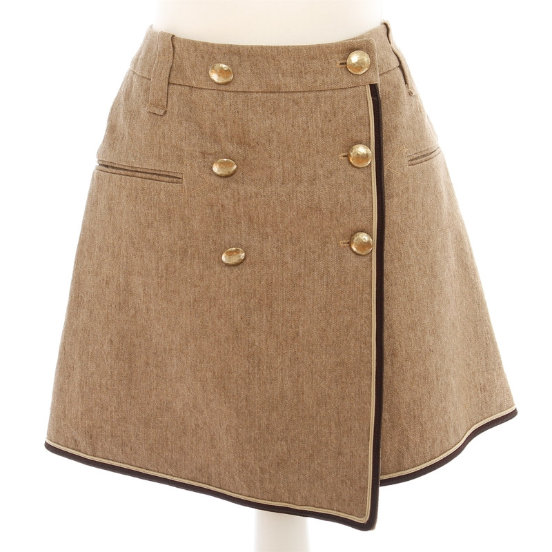 Wunderkind Wool skirt