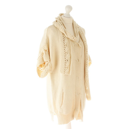 Iro Oversized Cardigan with scarf