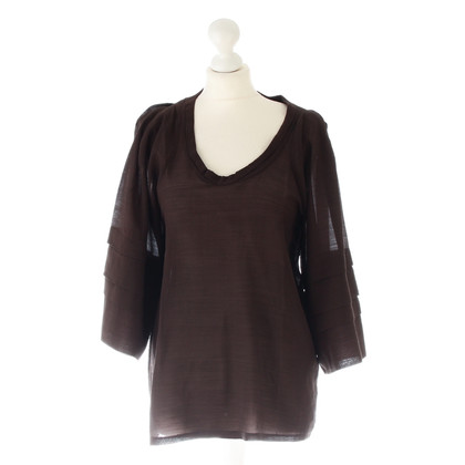 Bally Tunic blouse in Brown