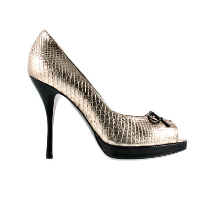 Pollini Gold heels