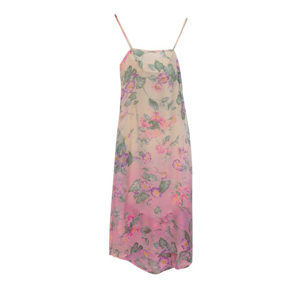 Emanuel Ungaro Silk dress with floral print