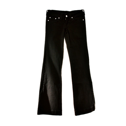 True Religion Denim flared leg in black