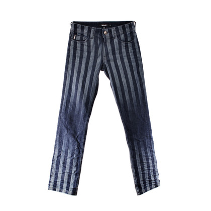 Just Cavalli Jeans with stripes and rhinestone