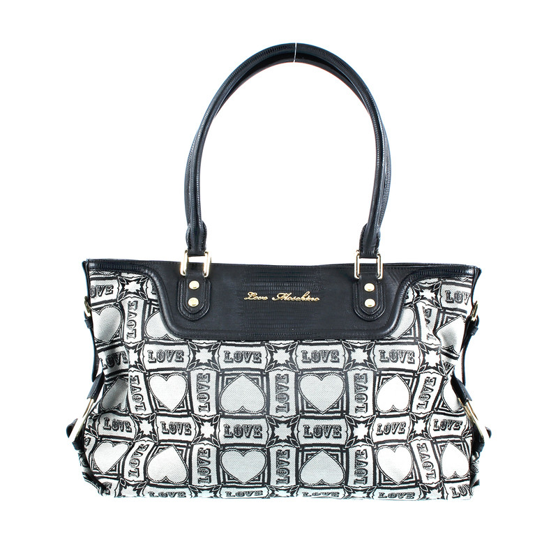 moschino tasche mit herzmotiven second hand moschino tasche mit herzmotiven gebraucht kaufen. Black Bedroom Furniture Sets. Home Design Ideas