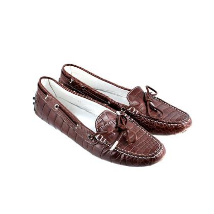 Tod's Original Croc moccasins