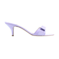 Salvatore Ferragamo Lilac high sandals