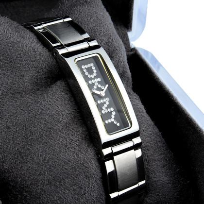 DKNY Orologio da polso con strass