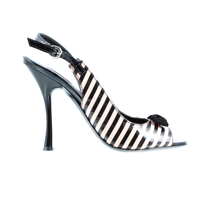 Kurt Geiger Striped Sling pumps