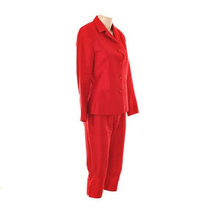 Nusco Rode zijde pak