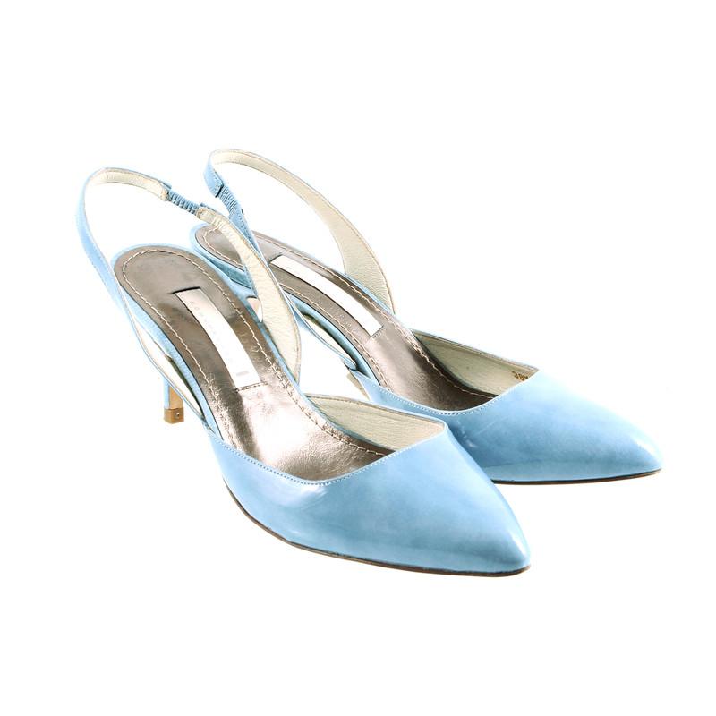 Blue Wedges Shoes Uk