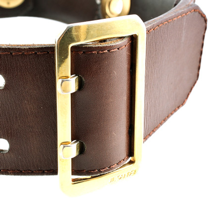 Jil Sander Belt with gold decoration