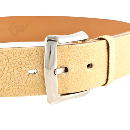 Other Designer Fausto Colato - Stingray leather belt