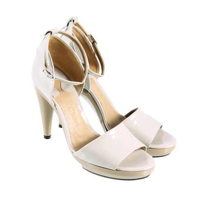 Chloé Peep-toes with ankle straps