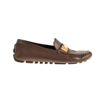 Louis Vuitton Loafer mit Golddetail