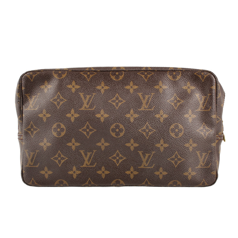 louis vuitton louis vuitton trousse toilette kulturbeutel monogram canvas vintage pur. Black Bedroom Furniture Sets. Home Design Ideas