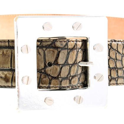 Dolce & Gabbana Croc riem