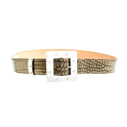Dolce & Gabbana Croc belt