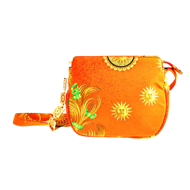 Versace Shoulder bag with a Sun motif